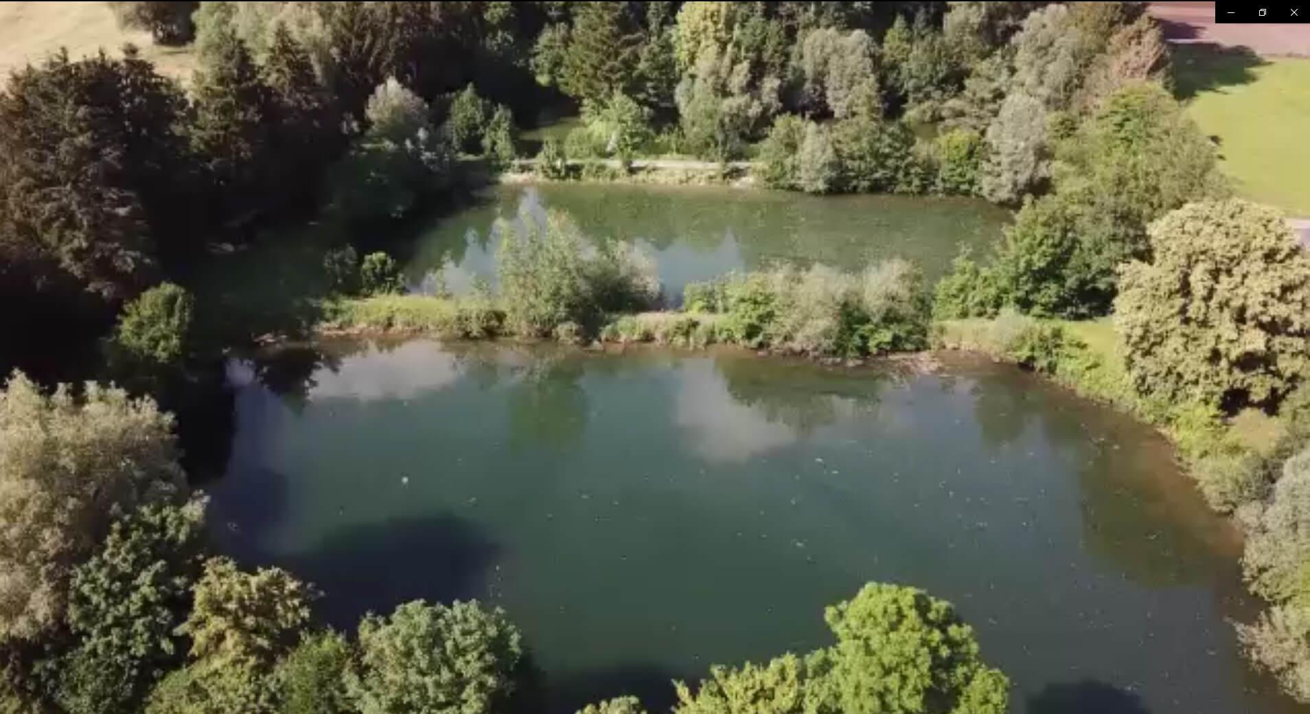 Freizeitgrundstück Fischweiher-Anlage im Mindeltal